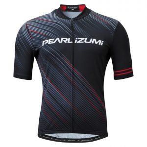 PEARL IZUMI 621-B-1 男性基本款短車衣(黑/紅)