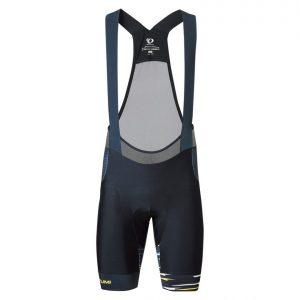PEARL IZUMI T281-3DNP-1 旗鑑款男性吊帶短車褲(黑/黃白線條)