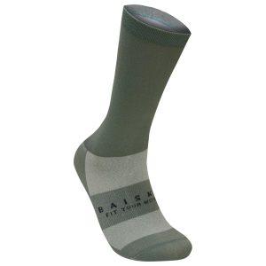 BAISKY 基本款純色運動襪(綠)