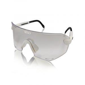 OCTO PILOTA 101 運動風鏡(白框/水銀鍍膜)